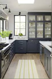 Gray Color Kitchen Cabinets Yellow Color Accents Jazz Up Gray Kitchen Decorating