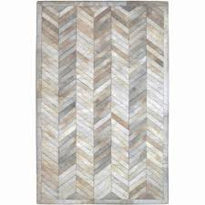 Round Chevron Rug by Flooring Stylish Patchwork Cowhide Rug For Your Home Interior