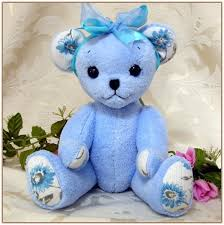remembrance teddy bears handmade memory teddy bears from loved one s clothing and