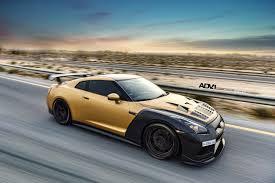 nissan gold nissan tuning stunning adv1 carbon u0026 gold nissan gt r