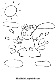 free peppa pig coloring pages thelittleladybird com