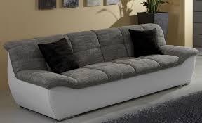 3er sofa grau tivoli 3er sofa 3 sitzer grau weiß polstermöbel 3 sitzer