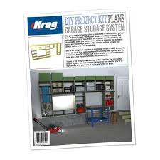 Best Garage Organization System - kreg printed project plan garage storage system