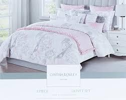 Pink Rose Duvet Cover Set Parisian Bedding Sets