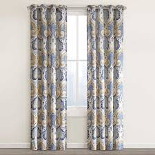 echo design jaipur window single curtain panel u0026 reviews wayfair
