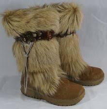 s yeti boots fur mukluks yeti boots s us size 6 ebay
