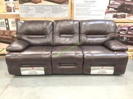 pulaski leather reclining sofa costco leather reclining sofa sofa metrojojo costco leather