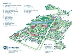 Stevens Campus Map The Williston Northampton Campus Map By Williston