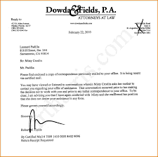Certified Mail Letter Template Letter Attorney Client Letter Template