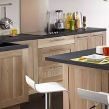 meuble cuisine chene massif idea meubles de cuisine en chêne massif brut mon espace maison