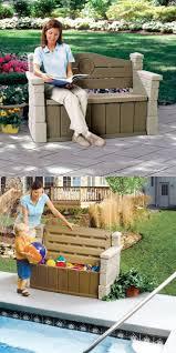 Outdoor Storage Bench 25 Best Pool Storage Box Ideas On Pinterest Pool Deck Furniture