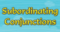 subordinating conjunctions conjunction games turtle diary