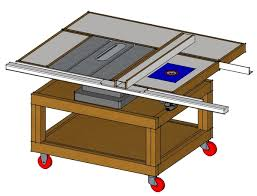 diy table saw stand custom made table saw stands plans for table saw stand kreg jig
