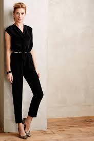 dressy jumpsuits for petites lyst franco vista jumpsuit in black