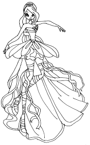 flora coloring pages download coloring pages winx club coloring pages winx club