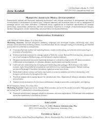 Experiential Marketing Resume Best Solutions Of Entry Level Marketing Resume Samples In