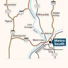 Beaverton Oregon Map by Metro South Garbage Recycling Hazardous Waste Disposal Metro