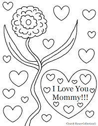 i love you mom coloring coloring pages that say i love you mom
