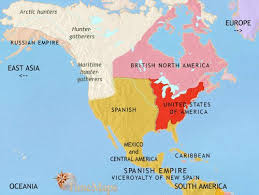 anerica map map of america at 3500bc timemaps