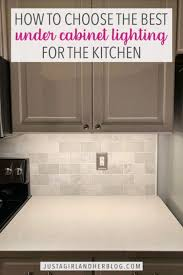 best kitchen cabinet lighting choosing cabinet lighting for the kitchen abby lawson