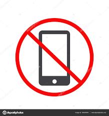 phone icon no mobile phone icon no phone telephone cellphone u2014 stock vector