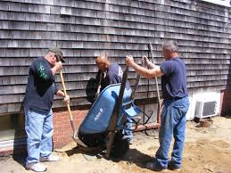 inmates help build handicapped ramp at osterville veterans club
