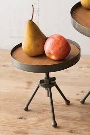 industrial modern kitchen adjustable industrial modern kitchen display stands set of 2