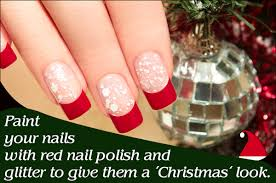 unique and dazzling nail art designs for christmas