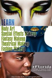 colleges for special effects makeup to do makeup thought about doing it as a career why