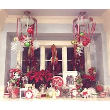 13 kitchen window christmas decorating ideas simple ribbon for kitchen window christmas decorating ideas