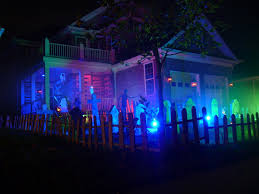 purple halloween lights