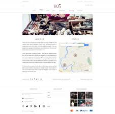 koi fashion store and ecommerce multi purpose psd template by