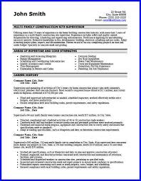 Sample Resume For Construction Site Supervisor by Construction Supervisor Cover Letter Sample Staring Costs Tk