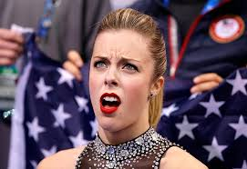 angry face of u s figure skater ashley wagner becomes popular