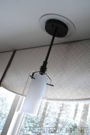 how to convert a pendant light to a recessed light easily change a recessed light to a decorative hanging fixture