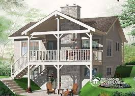 house plans with rear view house plan w3955 detail from drummondhouseplans com