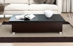 modern coffee tables chic and black table wood thippo