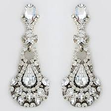 Bridal Chandelier Earrings Best Rhinestone Chandelier Earrings Photos 2017 U2013 Blue Maize