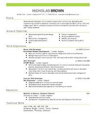 Security Resume Sample by Resume How To Prepare A Good Cv Sample Security Supervisor