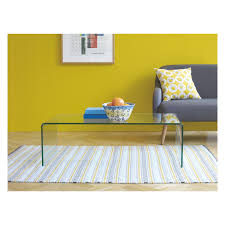 Yellow Side Table Uk 195 Gala Glass Coffee Table Buy Now At Habitat Uk Flat