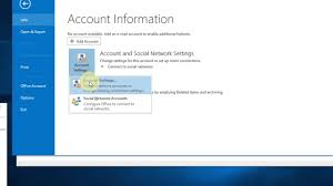Business Email Accounts by How To Set Up Company Email Account In Outlook 2013 Youtube