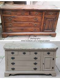 Repurposed Dresser Kitchen Island - drab old dresser to darling kitchen island maison blanche pecan