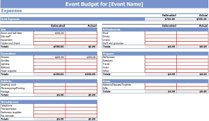 Spreadsheet Template For Budget Sle Budget Spreadsheet Excel Haisume