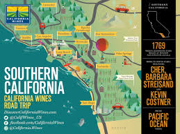 Map Of Carlsbad Ca Explore Southern California On A California Wines Road Trip The