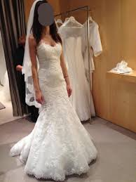 Bella Wedding Dress Pronovias Bella Lace Wedding Dress Size 4 Weddingbee