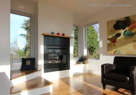 how big is 650 sq ft modern backyard cottage in seattle with one bedroom and a loft in