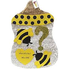 bumblebee pinata apinata4u bumblebee baby bottle gender reveal pinata