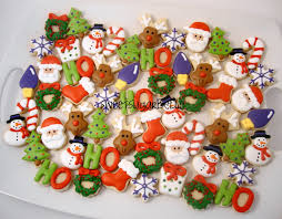 merry christmas cookies christmas lights decoration