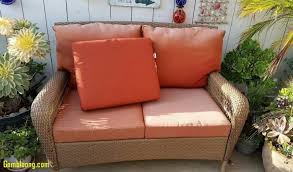 Wicker Sofa Cushions Replacement Cushions For Martha Stewart Outdoor Wicker Furniture