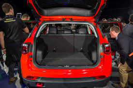 jeep compass 2017 trunk 2017 jeep compass review first impressions news cars com